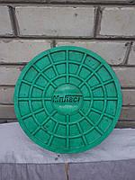 Люк-мини для лотков д.315 (зеленый) - Мпласт