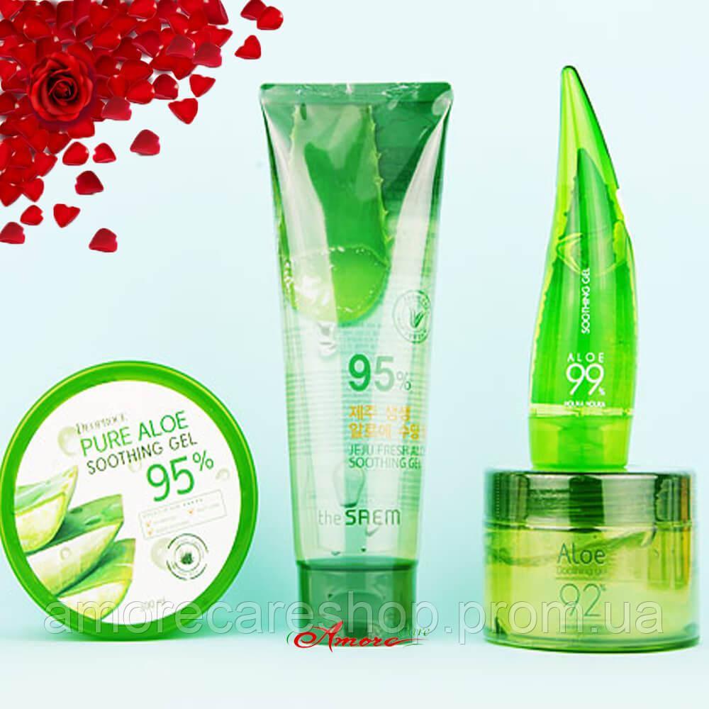 The Saem 95 Jeju Fresh Aloe Soothing Gel Shooting