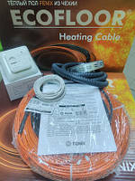 Теплый пол кабельный 100м 1700Вт FENIX Ecofloor ADSV18 на 10 м.кв