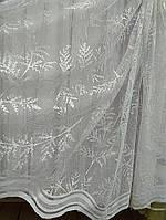 Гардина на жаккардовой основе(Турция) , белая, фото 1
