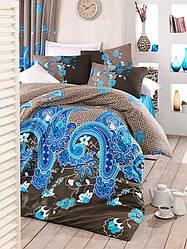 Комплект постельного белья ТМ LightHouse бязь голд HAYAT голубой 200х220/2х50х70