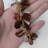 Пластика браслет из пластики, ручная работа шоколадный браслет, фото 1