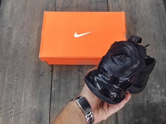 Кроссовки мужские Nike Air Max 270 Черные\Кожа, фото 2