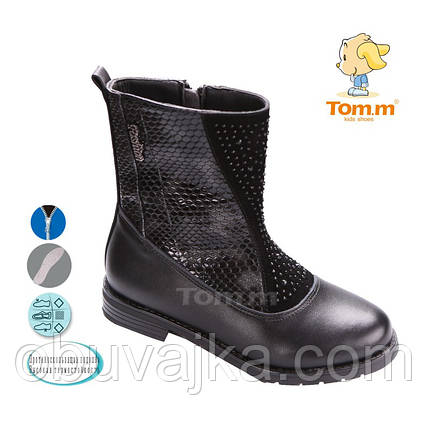 Демисезонная обувь Ботинки для девочек от фирмы Tom m(32-37), фото 2