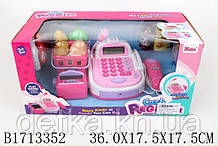 Кассовый аппарат 870/1713352 с продуктами батар.муз.свет