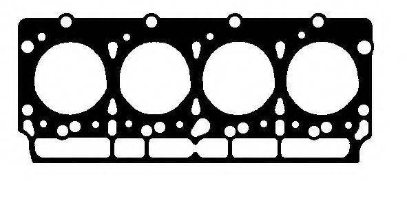 Прокладка головки блоку Ford Transit 2,5 D / TD D25N, D25P / 84-91, фото 2