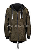 Мужская двухсторонняя куртка, Glo-Story