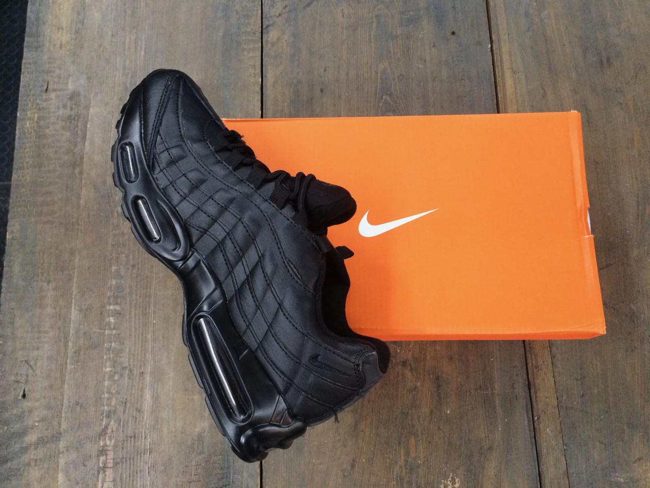 Женские кроссовки Nike Air Max 95 TN.Кожа
