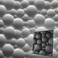 """Форма для 3D панелей """"Пузыри"""" 500*500 мм"""