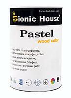 Акрилова лазур антисептик для дерева Pastel Wood Color 0.8 л
