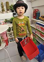 Реглан для мальчика Love зеленый 6035