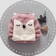 Кофта для девочек Slippi розовая