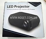 Світлодіодний проектор - LED Projector YG-320 Mini, фото 2