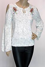 Жіночий кофта з вишивкою і відкритими плечима Park Caroon, фото 2