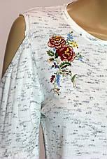Жіночий кофта з вишивкою і відкритими плечима Park Caroon, фото 3