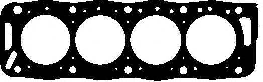 Прокладка головки блока Psa 1.9D XUD9 4!, фото 2