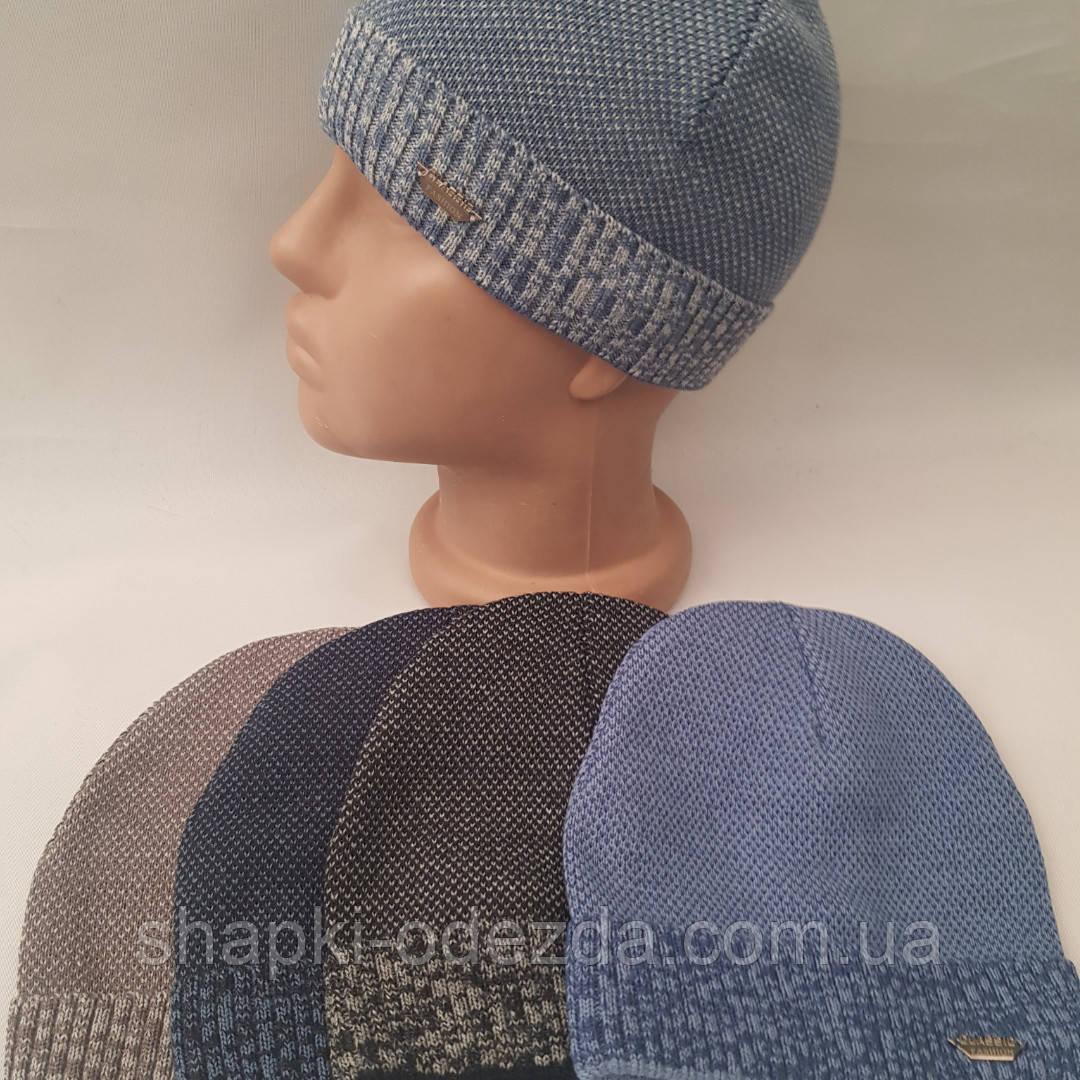Детская вязаная шапка  р 48-50 л оптом