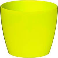 Горшок цветочный Lamela Магнолия 135 13.5х11.9 см лимонный N10927337, фото 1