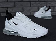 "Кроссовки мужские/женские Nike Air Max 270 White ""Белые"" найк аир макс р. 36-45, фото 1"