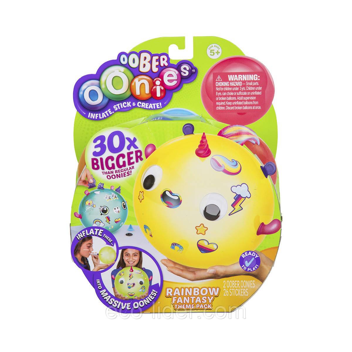 Набор для создания игрушек OONIES - ФЭНТЕЗИ (2 заготовки, трубочка для надувания, 23 детали)