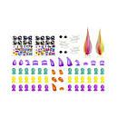 Набор для создания игрушек OONIES - СТИЛЬНЫЕ ПЁСИКИ (36 заготовок, 29 деталей), фото 2