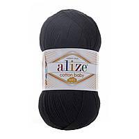 Пряжа Alize Cotton Baby Soft черный