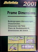 AUTODATA 2001 Frame Dimensions Кузовні розміри