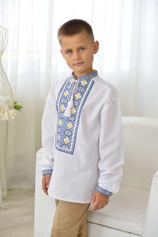 Вишиванка дитяча для хлопчика Герб  продажа 6b9af6dc409ed