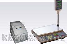 Весы торговые с принтером этикетки. Сертифицировано