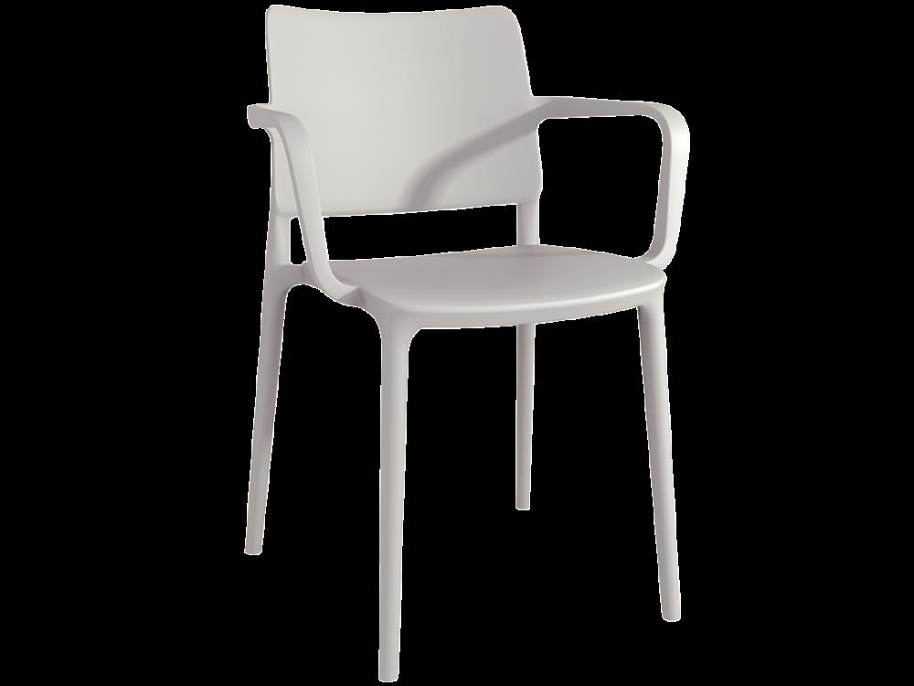 Крісло Papatya Joy-K тепло-сірий