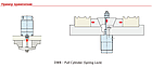 Гидравлический цилиндр  DWB4000, аналог Kosmek, фото 2