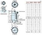 Гидравлический цилиндр  DWB4000, аналог Kosmek, фото 3