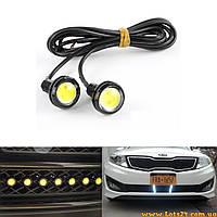 Орлиный Глаз - врезная LED линза 23мм 9W ДХО DRL