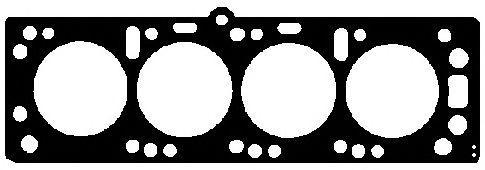 Прокладка головки блока 1.55mm Opel/Isuzu 1.7D/TD 4EE1/4EE1-T 2!