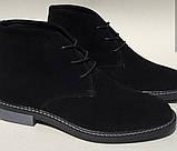 Clarks Men Desert Boot мужские коричневые замшевые ботинки реплика дезерты весна осень 2020, фото 10