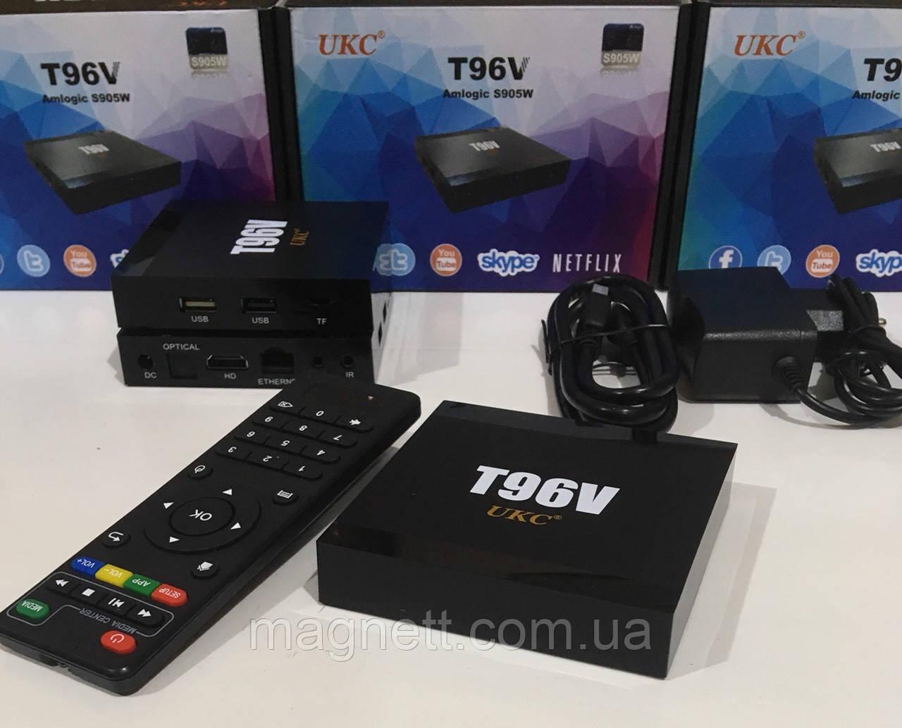 Смарт ТВ-приставка UKC T96V (2GB\16GB)