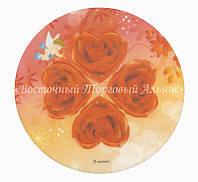 Вафельные картинки — 20025 Розы 3D 21 см Modecor