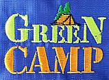 Палатка туристична 4-х місцева GreenCamp 1009-2 два входи 440x245x155 см, фото 8