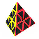 Головоломка Пирамида Cube Style Pyraminx 3-x слойное углеродное волокно, фото 2