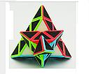 Головоломка Пирамида Cube Style Pyraminx 3-x слойное углеродное волокно, фото 4