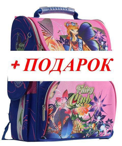 da7bcfc80f5e Ранец рюкзак школьный каркасный для девочки Fairy Flower CLASS арт. 9806