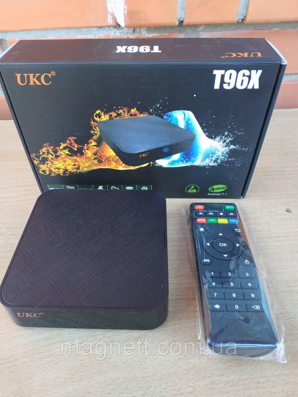 ТВ приставка T96X SMART TV BOX Android (2/8G)