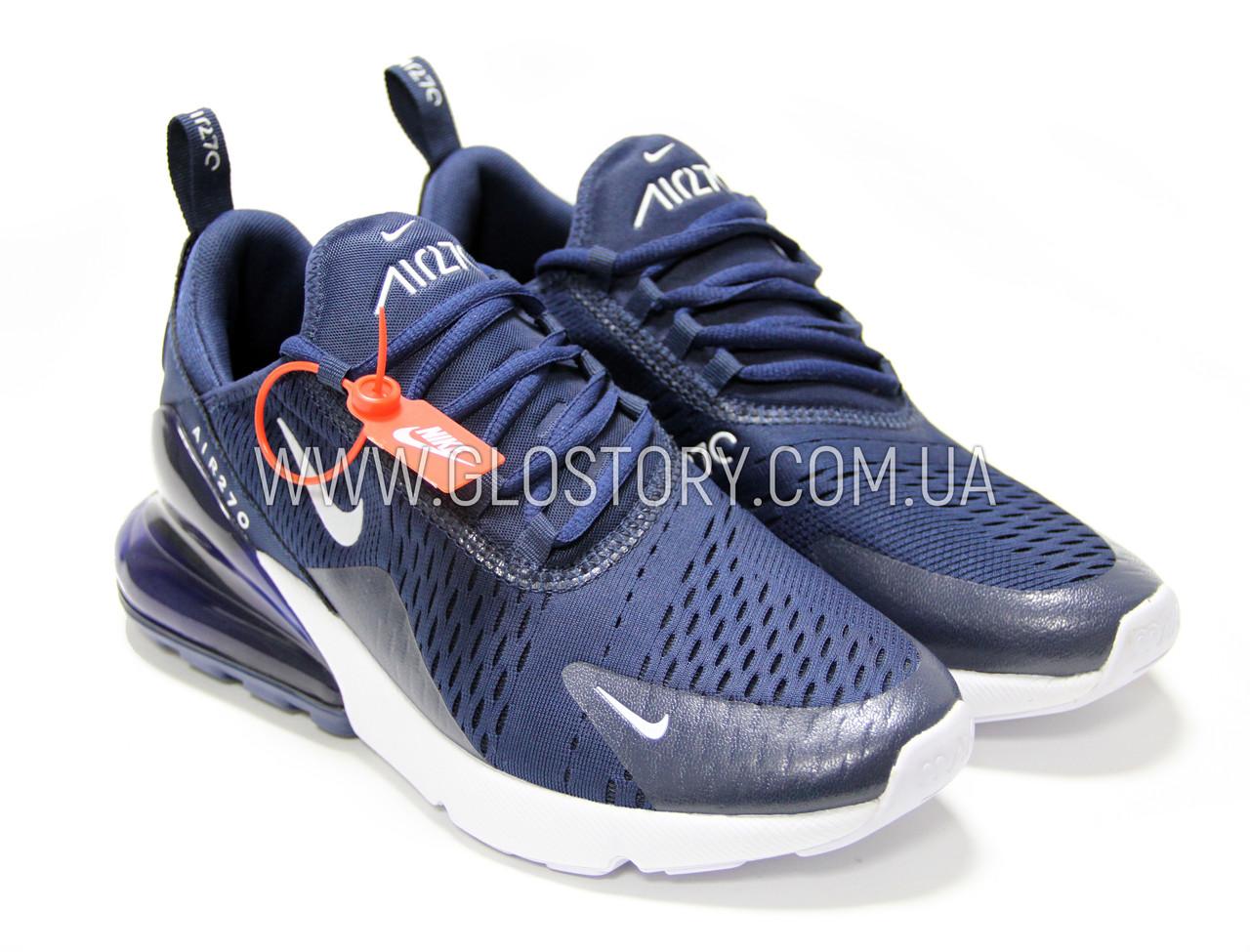 029c05b6 Кроссовки Nike Air Max 270 blue (Реплика),Бесплатная доставка - GLO-STORY
