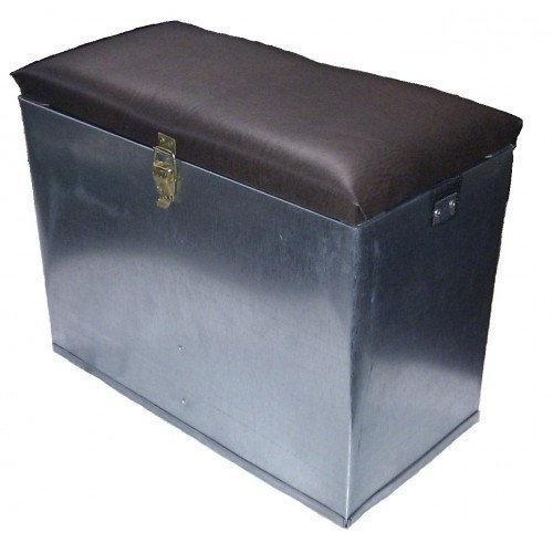 Ящик для зимней рыбалки металлический ,БОЛЬШОЙ хорошее качество