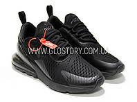 Кроссовки Nike Air Max 270 Triple Black AH8050-005 (Реплика),Бесплатная доставка
