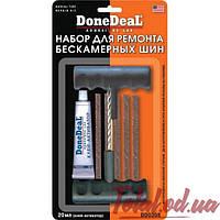 Полный набор без резака DoneDeal для ремонта бескамерных шин 20 мл.