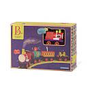 Игровой набор с железной дорогой - БАТТАТОЭКСПРЕСС (свет,звук,водяной пар,4 вагончика, диаметр 91см), фото 2