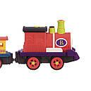Игровой набор с железной дорогой - БАТТАТОЭКСПРЕСС (свет,звук,водяной пар,4 вагончика, диаметр 91см), фото 5