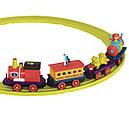 Игровой набор с железной дорогой - БАТТАТОЭКСПРЕСС (свет,звук,водяной пар,4 вагончика, диаметр 91см), фото 9