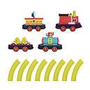 Игровой набор с железной дорогой - БАТТАТОЭКСПРЕСС (свет,звук,водяной пар,4 вагончика, диаметр 91см), фото 10